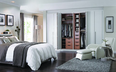 Bedroom wardrobe storage from the Cassia Bi-Fold White range (BettaLivingUK) Tags: bedroom interiors interiordesign stylish neutral bedroomdesign fittedbedroom fittedwardrobe bettaliving openwardrobe