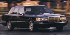 1992 Lincoln Town Car (biglinc71) Tags: car town lincoln 1992