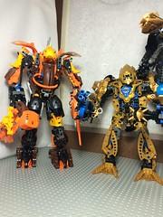 Rahknarahk - King of the Rahkshi under Makuta (dgjoyce123) Tags: bionicle rahkshi mocpages