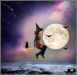The Halloween Witch.
