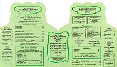Toed Inn menu (jericl cat) Tags: california architecture vintage paper restaurant losangeles crazy boulevard santamonica diner frog ephemera toad wilshire 12008