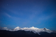 meili mountain with star  SONY A7 (cccphyy) Tags: astrometrydotnet:status=solved astrometrydotnet:id=nova1106286