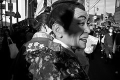 Winter festival (harumichi otani) Tags: winter blackandwhite bw monochrome festival japan 35mm blackwhite summicron monochrom japanphotography leicammonochrom japanbwphotography