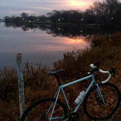 Dawn Patrol before the rain #weavercycleworks #custombicycles