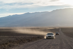 A Road to the Golf Course (Kaew_monopod) Tags: california road desert roadtrip deathvalley devilsgolfcourse