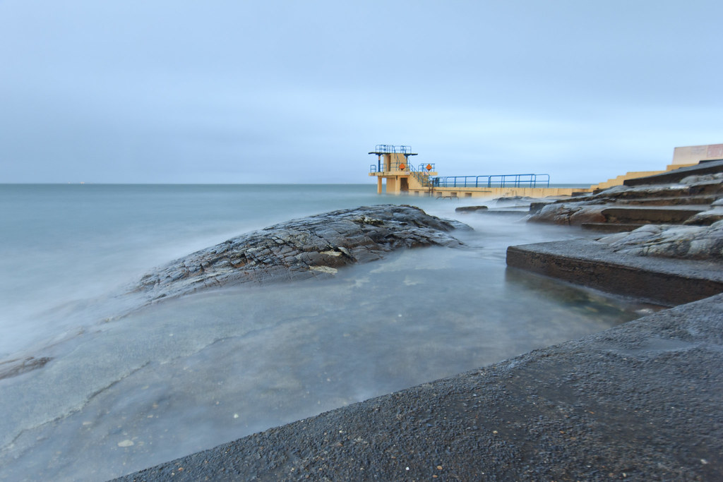 Salthill, Galway. Long Exposure
