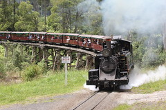 Puffing Billy (james.sanders2) Tags: bill victoria steam na dandenong ranges billy gauge narrow vr puffing