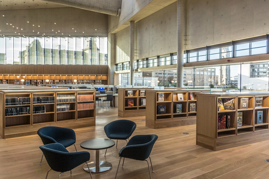 New Public Library In Dun Laoghaire, Officially Called DLR Lexicon Opened To The Public Today And It Is Worth Visiting Ref-100539