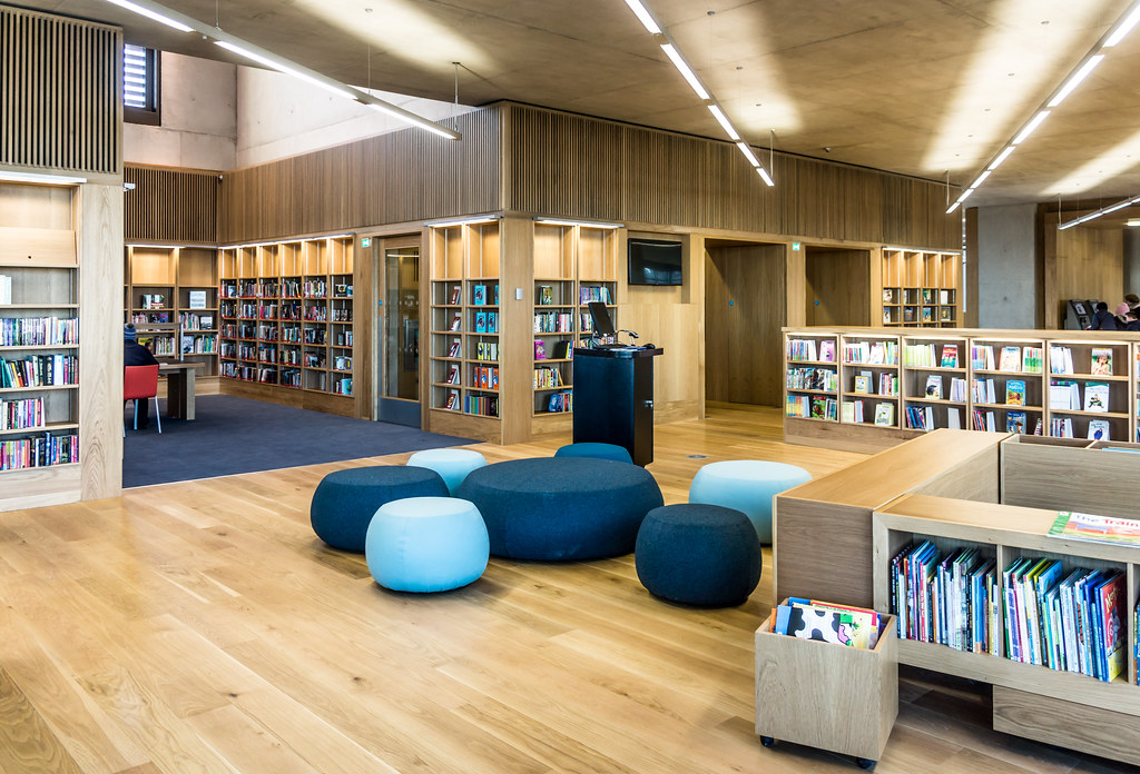 New Public Library In Dun Laoghaire, Officially Called DLR Lexicon Opened To The Public Today And It Is Worth Visiting Ref-100535