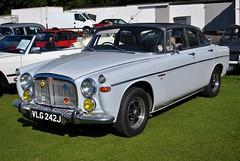 VLG242J (stamper104) Tags: classic car vintage classiccar transport rover british 1970 oldcar 35 litre worldcars alltypesoftransport anykindofvehicles transportintheframe