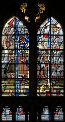 Cathdrale de Coutances (Denis Krieger) Tags: window glass stained cathdrale vitrail vitraux cathdral coutances