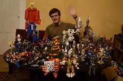 Merry 101 Follower! (Ddke) Tags: xmas robot factory lego hero bionicle mech microscale mixels microhammer