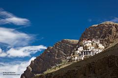 Ki Monastery, Himachal Pradesh (Bharat Baswani) Tags: terrain mountains temple rocks religion surreal buddhism monastery valley magical himachal himalayas ki rugged spiti kee pradesh gompa
