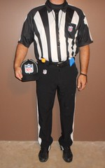 1Authentic NFL officials short sleeve uniform with black pinstriped NFL hat. (Football Officials Referee Uniforms) Tags: pink blue white man black game men jock up field grass hat leather yellow socks shirt fetish bag shoe back football belt clothing athletic referee official sock shoes uniform warm long day pants flat underwear head side low nfl think sunday under stripe super bowl bean line wear clothes compression briefs cap national short judge trousers shorts superbowl monday thursday sleeve turf whistle striped league penalty pinstripe pregame umpire reebok lanyard pinstriping officials linesman
