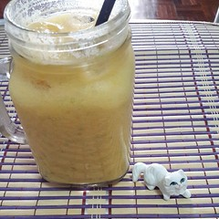 #MangoSago #MadeInTH น้ำมะม่วงสาคูแบบHK แต่ก๊อปเกรดเอโดยชะนีโชคชัย5 #อยากได้อีเครื่องปั่นเย็นๆเลยอ่ะ