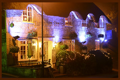 The Village Inn (Inner Vision Productions) Tags: street old mist misty night pencil island photography inn peace village christ god cottage inner vision isleofwight shanklin holliers d5200