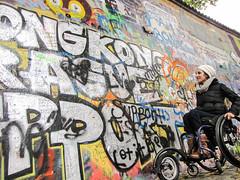 Prague (Praha), Czech Repulic (rodes.julia) Tags: prague praha charlesbridge johnlennon paraplegic pivo praguecastle johnlennonwall segwaytours czechrepulic accessibletravel disabilitytravel railwaytrainrestaurant