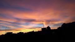 Natural sunset. (itsayoub) Tags: sunset sky cloud soleil natural coucher du ciel cloudporn nofilter skyporn