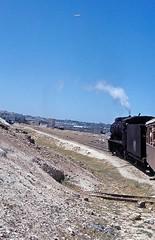 71  Amman  23.05.83 (w. + h. brutzer) Tags: analog train nikon amman eisenbahn railway zug trains jr steam locomotive jordanien dampflok lokomotive eisenbahnen dampfloks webru