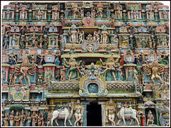 4803 - Mudhukundram   (Vridhachalam) temple 01 (chandrasekaran a) Tags: india buildings structures hinduism tamilnadu templeart gopurams appar canon60d vridhachalam padalpetrasthalam sundarar templesarchitecturesscuptures thevaram sambandhar saivaism thirumuraitemples mudhukundram pazhamalai figuralgopuram