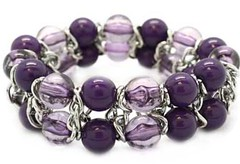 Glimpse of Malibu Purple Bracelet P9613-5