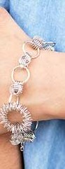 5th Avenue Silver Bracelet K1 P9210A-5