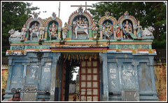 4810- Pennadam -Thoonganaimadam temple ( ) 01 (chandrasekaran a) Tags: india buildings sony structures hinduism tamilnadu templeart gopurams appar vridhachalam padalpetrasthalam sundarar templesarchitecturesscuptures pennadam thevaram sambandhar saivaism thirumuraitemples thoonganaimadam mudhukundram figuralgopuram