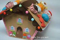 Tema João e Maria - Casinha de doces (Ana Ribeiro2010) Tags: maria feltro decoração doces joão fel casinha joãoemaria