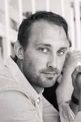 Niclas (xibalbax) Tags: portrait people bw man canon 50mm 7d canoneos7d