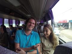 Photo de 14h - Dans le bus pour Battambang (Cambodge) - 22.12.2014