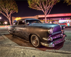 1954 ford (pixel fixel) Tags: ford flames 1954 uptown chopped custom whittier ghostflames dailydriver kathygonzalez pixelfixel tweakedpixelscom