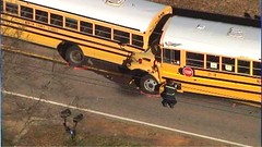 Rocky Plains Elementry School Bus Crash. Newton County, GA. 1.22.13. (dfirecop) Tags: bus publictransportation crash accident transportation wreck dfirecop