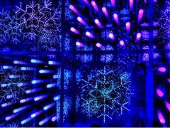 InfiniteLightbox (MarkRosauer) Tags: hdr infinite bluesnowflakes