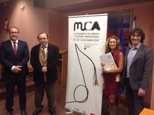 Inauguración Congreso Internacional de Música y Cultura Audiovisual 1