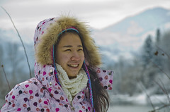 Smiling Anni (SusanCK) Tags: snow leavenworth susancksphoto