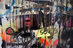 A woman. 50 € (wwwuppertal) Tags: woman art collage germany deutschland artwork colours kunst cologne köln nrw frau passage nordrheinwestfalen farben kunstwerk northrhinewestphalia 50€