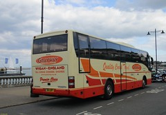 Jonckheere bodied Volvo M14GWY in Cowes 23 April 2016 (IslandYorkie) Tags: buses isleofwight cowes coaches backendofabus singledeckers volvobuses grayway busesinthesouthofengland busesontheisleofwight jonckheerebody coachesontheisleofwight m14gwy