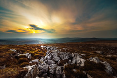 A view from the Blorenge (karlmccarthy1969) Tags: uk sunset sun mountain nature beautiful wales clouds landscape rocks glow awesome hill wide breconbeacons d750 yourbestoftoday
