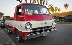 1965 Dodge A100 Pickup (stecki3d) Tags: auto california classic car vintage automobile san cruising diego pickup grand dodge a100 1965 escondido