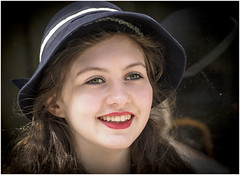 1940's Beauty (cconnor124) Tags: girls cute beautiful beauty portraits pretty canoneos candidportraits beautifulcapture canon100400lens haworth1940sweekend canon760d haworth2016