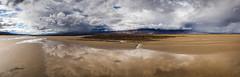 Water and Storms in Death Valley (Kurt Lawson) Tags: california park ca storm black mountains rain clouds death nationalpark desert flat salt playa flats national valley mojave barren furnacecreek panamint cottonball