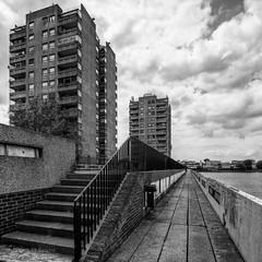 Southmere Towers - Thamesmead (James D Evans - Architectural Photographer) Tags: london architecture concrete modernism peabody brutalism modernist brutalist redevelopment thamesmead londonarchitecture thamesmeadsouth peabodylondon peabodyhomes