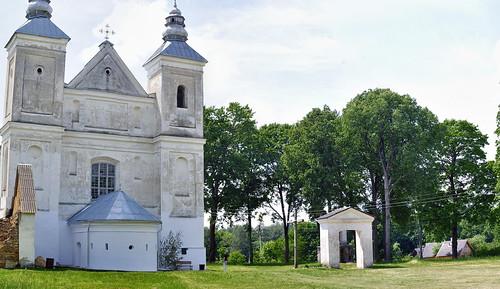 Костёл в Засвири , Беларусь