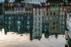 shapes and reflections (alain01789) Tags: silhouette seine reflections harbour estuary normandie honfleur shape normandy reflets vieuxport estuaire