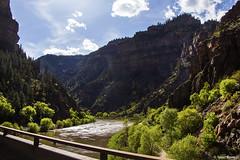 Glenwood Canyon (isaac.borrego) Tags: road bridge sky water clouds river colorado canyon coloradoriver glenwoodsprings glenwoodcanyon uploadedviaflickrqcom canonrebelt4i