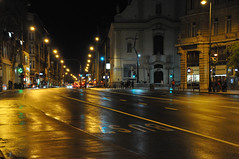 After the rain (jeangrgoire_marin) Tags: rain night stroll reflects