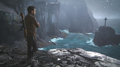 Braving the Cold (gamingink) Tags: ocean sea snow game mountains cold scotland games videogames gaming gamer videogame playstation ps4 uncharted gamephotography uncharted4