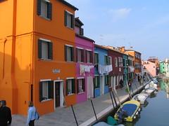 Venedig 061 (dieterkolm) Tags: italien venedig burano kanle bunte huser