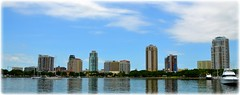 St Petersburg, FL Downtown (lagergrenjan) Tags: st marina boats downtown florida petersburg basin condos vinoy
