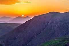 Orange sky! (sona.eskandarnezhad) Tags: sunset sun mountain nature landscape iran northiran canon6d